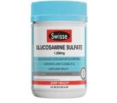 Swisse Glucosamine Sulfate 1500mg - Viên uống bổ sung sức khỏe sụn khớp 180 viên