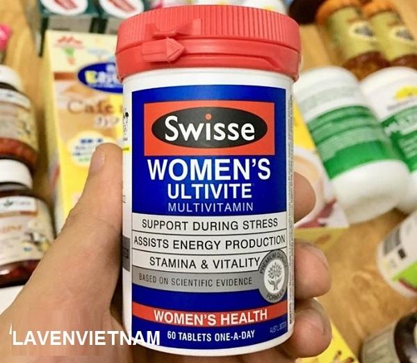 Vitamin cho nữ giới Swisse Women's Ultivite (60 viên)