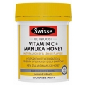 Swisse Vitamin C Manuka Honey - Viên uống tăng cường hệ miễn dịch (120 viên)