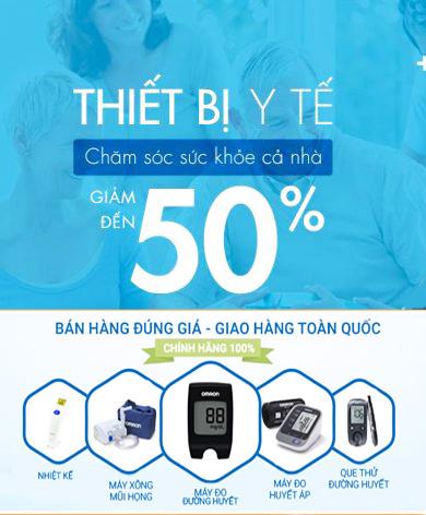 Giảm đến 50% thiết bị y tế tại Laven Việt Nam