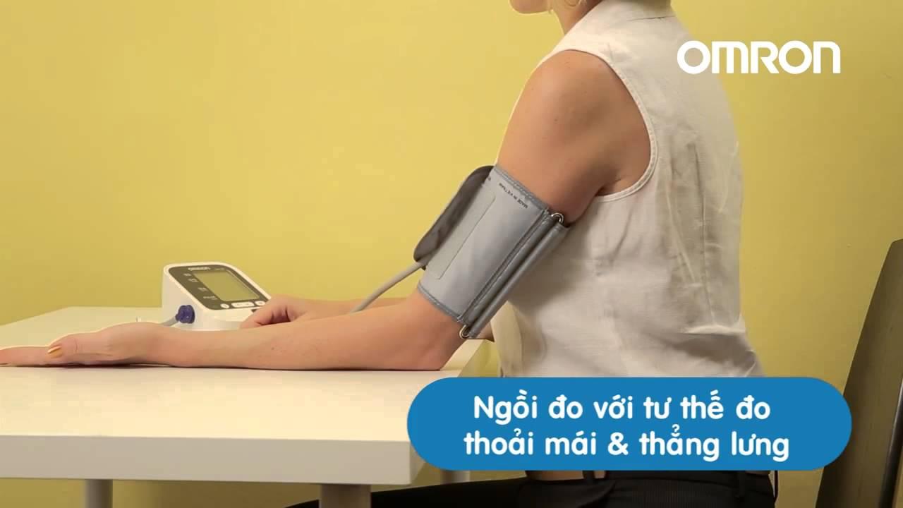 Tư thế đo huyết áp bắp tay chuẩn Tư thế đo huyết áp bắp tay chuẩn